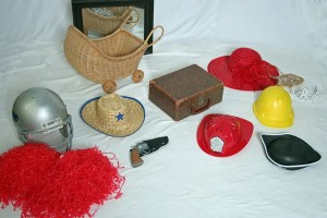 image of hats for photo props