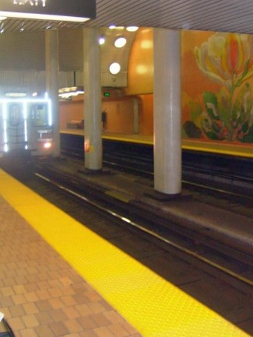 image of a Toronto subway station