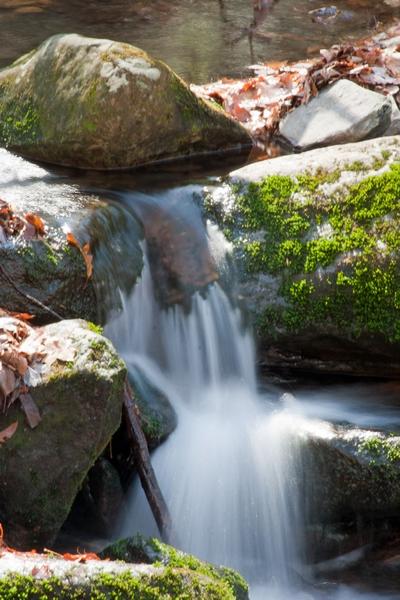 image of a waterfall in gatlinburg