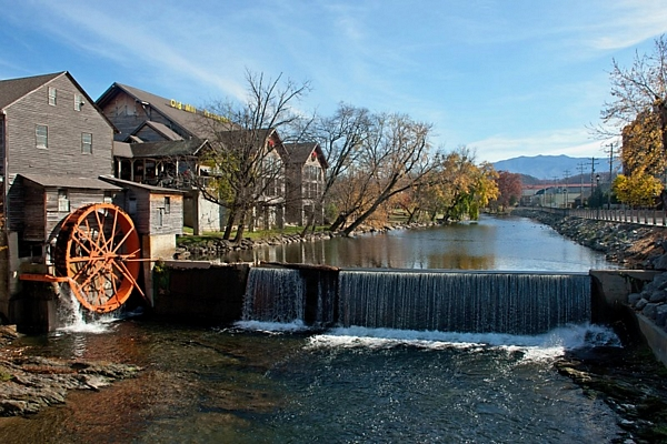 image of the mill in Pigeon Forge Tn