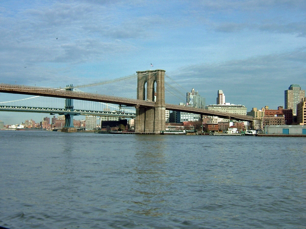 image of the brooklyn bridge