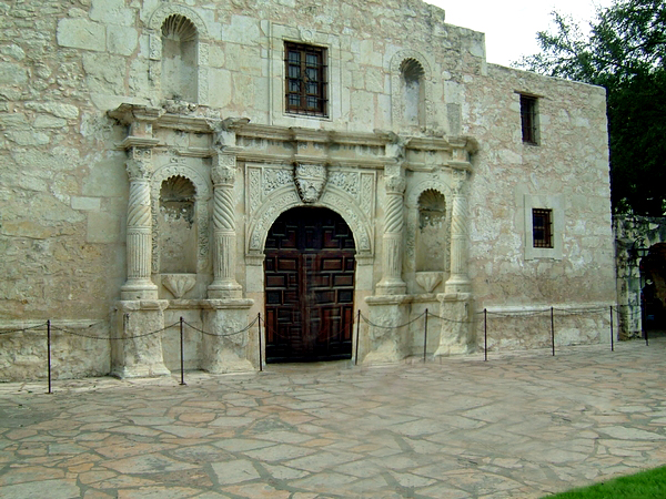image of the alamo in San Antonio Tx.