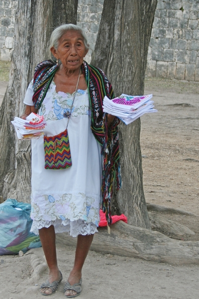 image of a mexican peddler woman