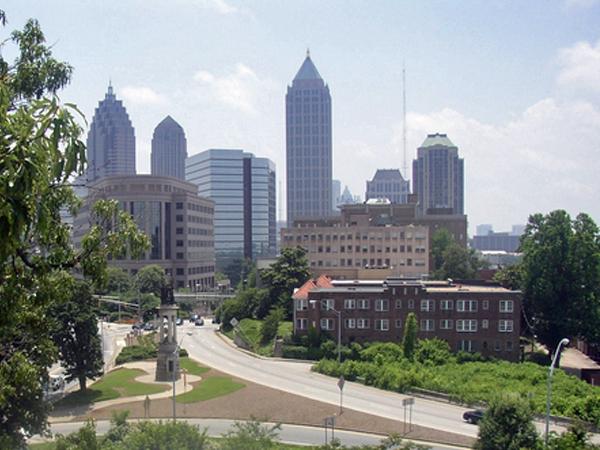 image of downtown Atlanta GA