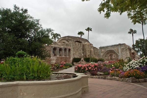 image of mission San Juan Capistrano
